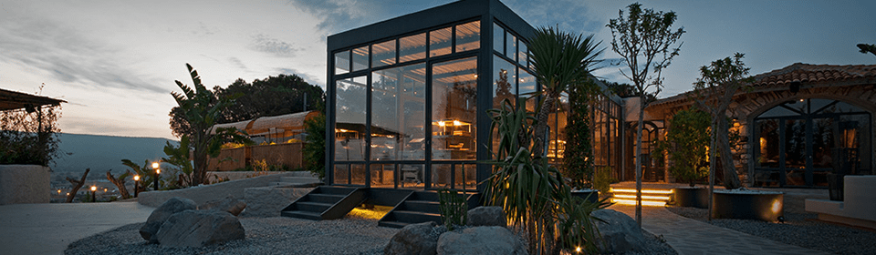 Alancha Restaurant. Alacati, Turkey.